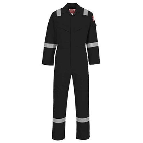 FR21 - Flame Resistant Super Light Weight Anti-Static Coverall 210g